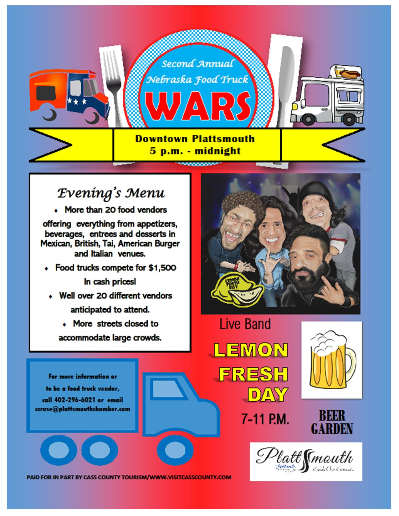 2nd Annualfoodtruckwars realflier2018