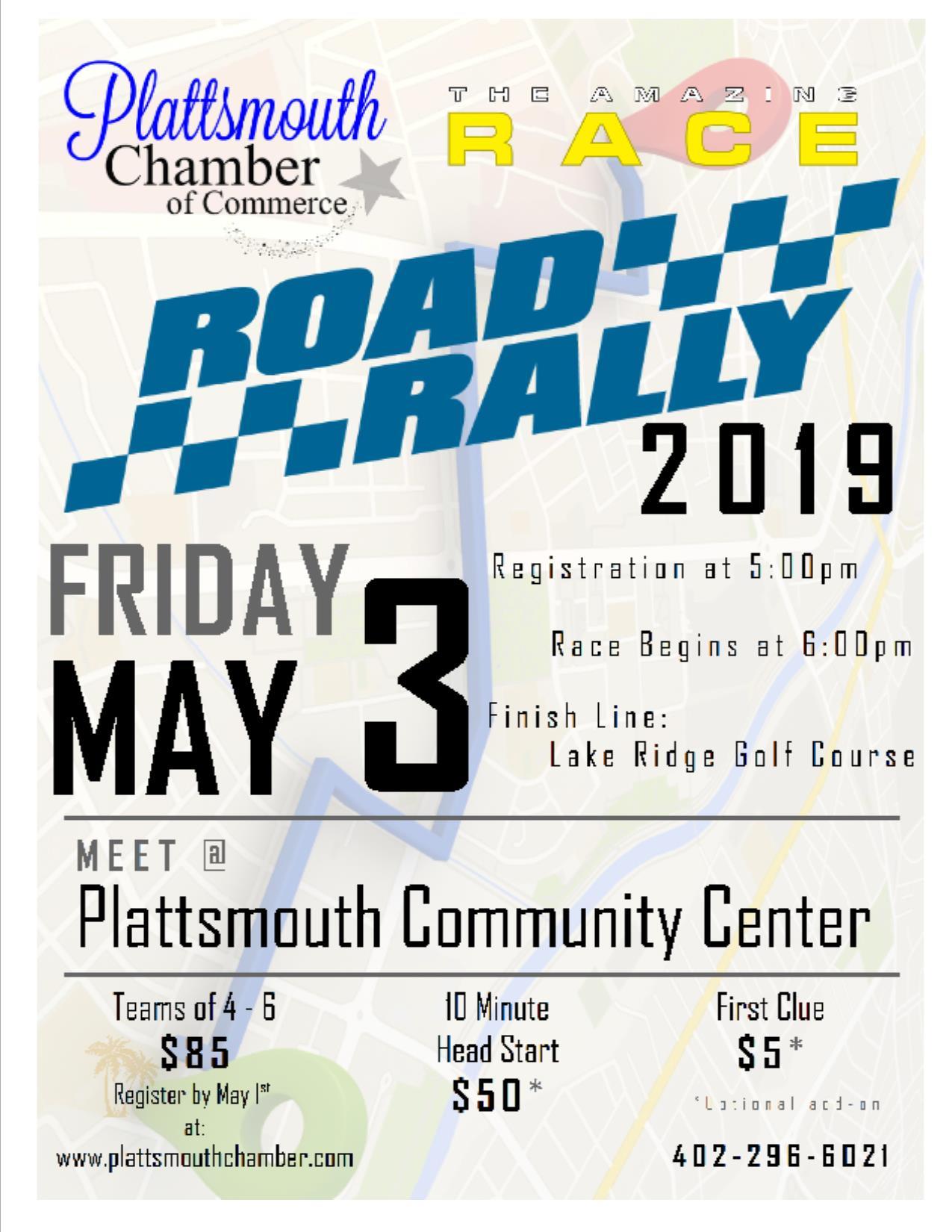 Plattsmouth Chamber of Commerce Amazing Race - Plattsmouth Chamber of  Commerce